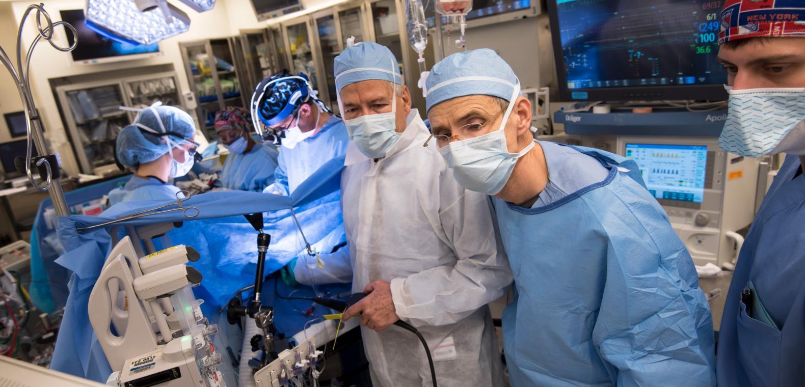 Department of Cardiothoracic Surgery Education | NYU Langone