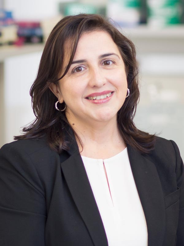 Faculty profile photo of                       Eva M. Hernando-Monge