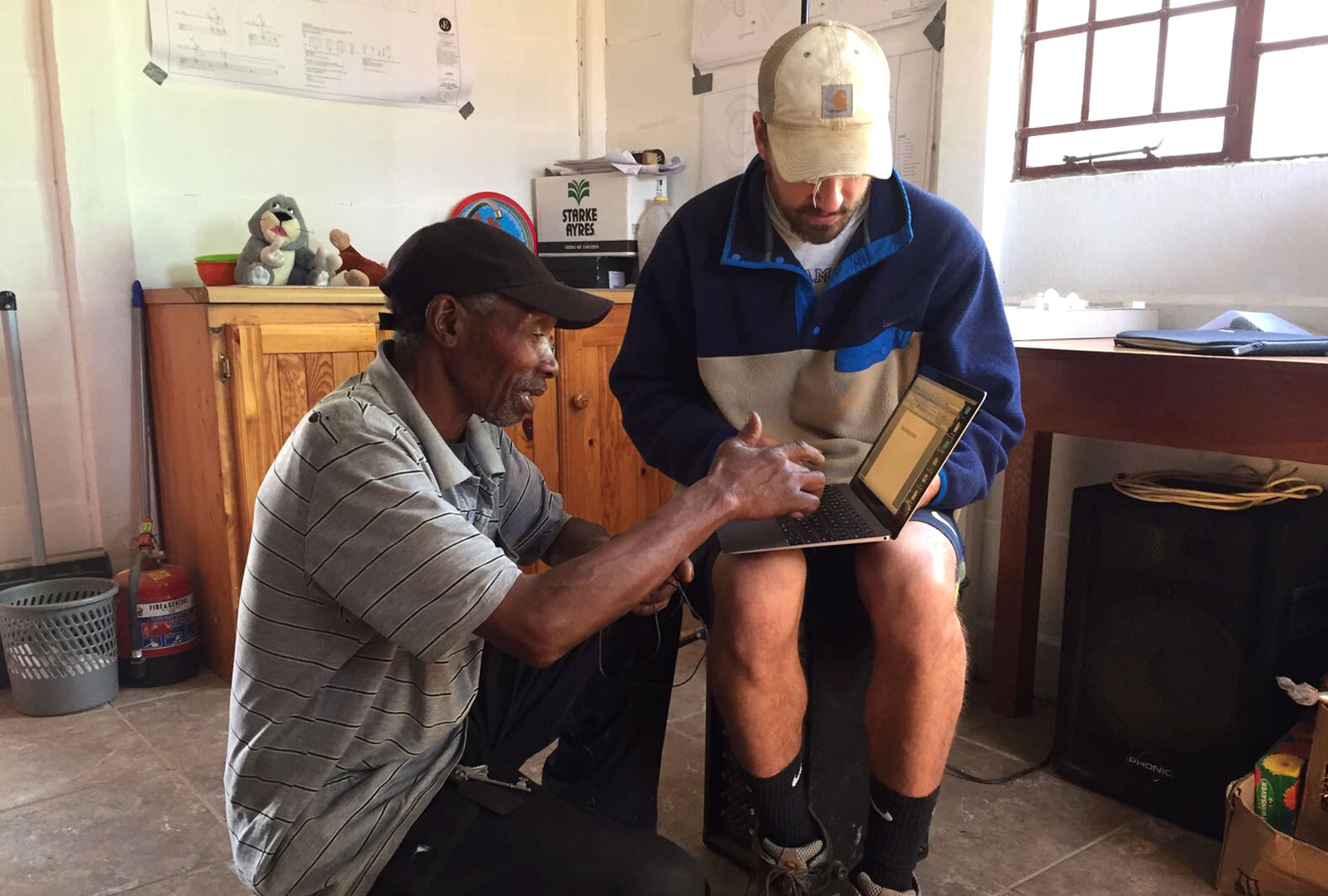 NYU Langone Healthcare Worker Ryan Thompson in South Africa