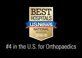 US News Recognition - Ortho