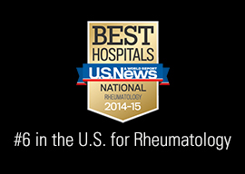 US News Recognition - Rheumatology