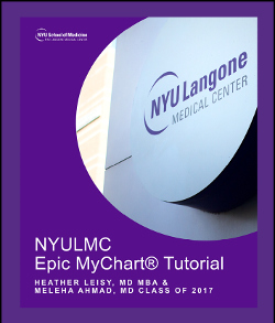 NYULMC Epic MyChart Tutorial