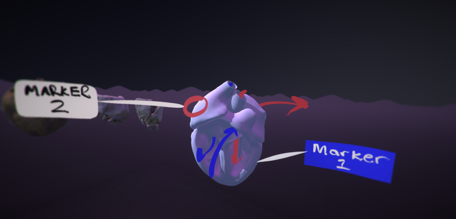 Virtual reality in medical education certificate course nyu vr render of heart xflitez Choice Image
