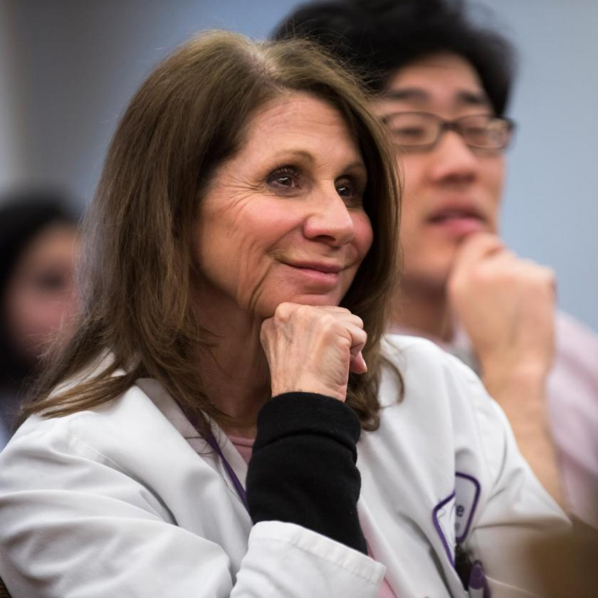 Doctors Listen to Talk at Conference
