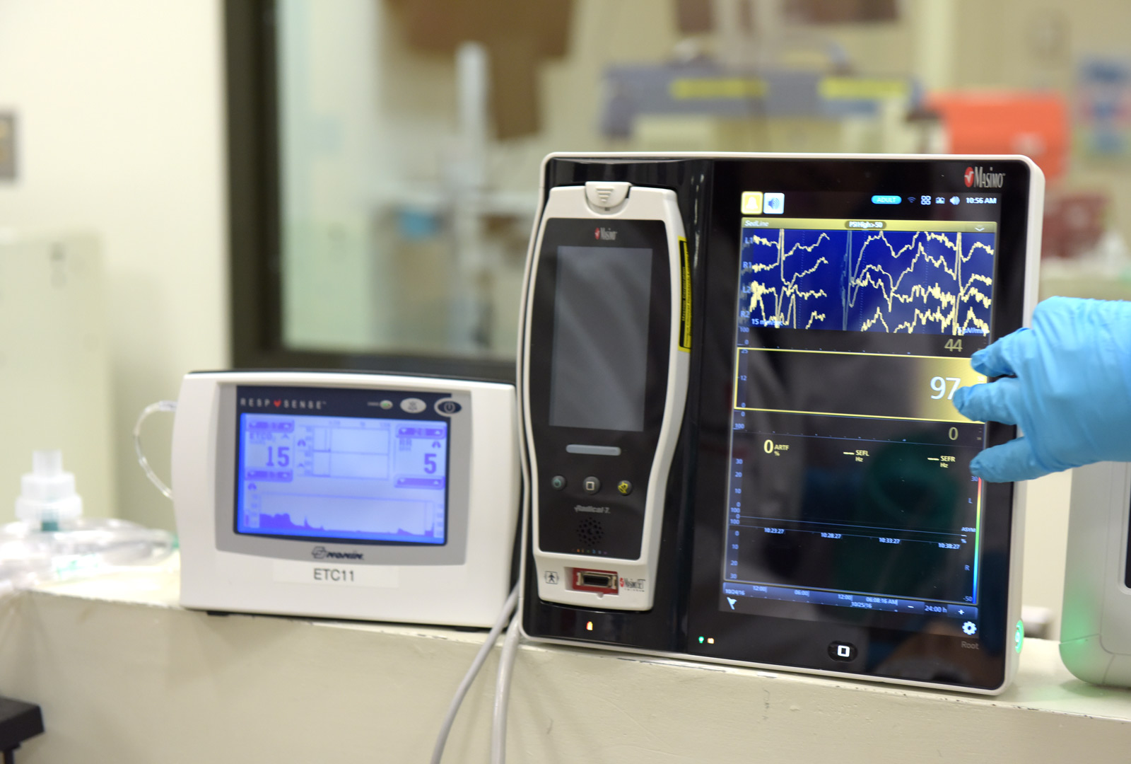 Machinery Used to Assess Brain Activity during Cardiac Arrest