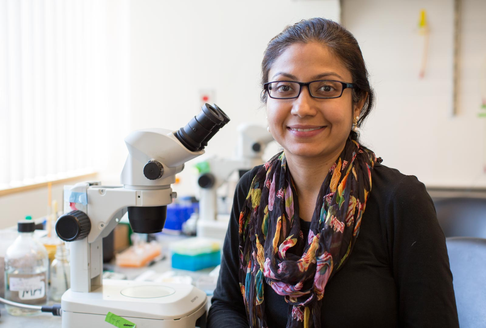 Postdoctoral fellow Debasmita Roy, PhD