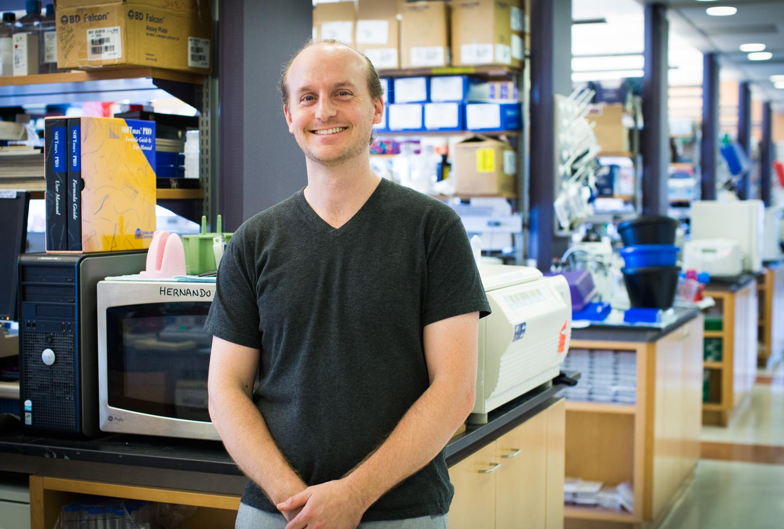 Postdoctoral fellow Douglas Hanniford, PhD
