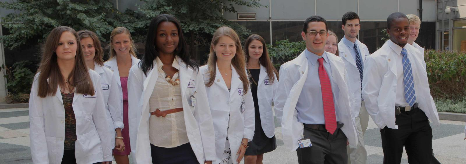 Medical Students in White Coats