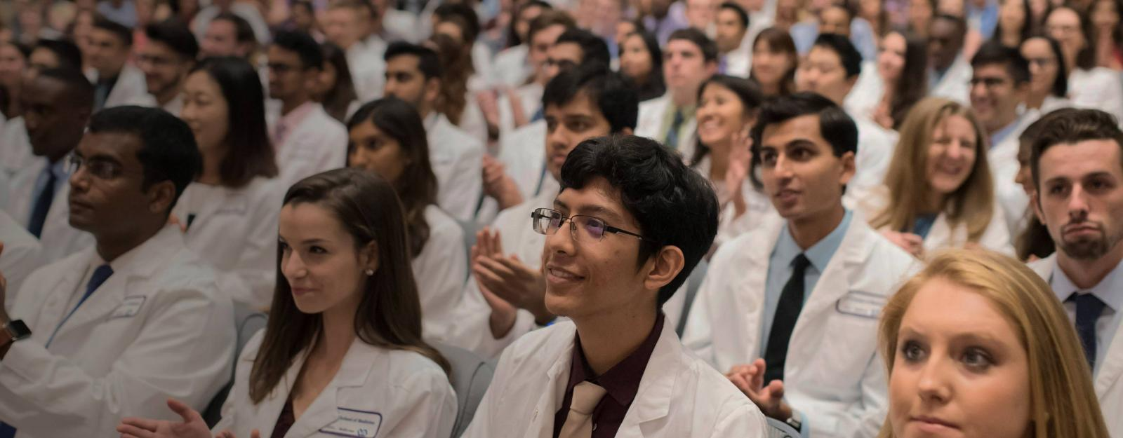 NYU Medical Students At White Coat Ceremony