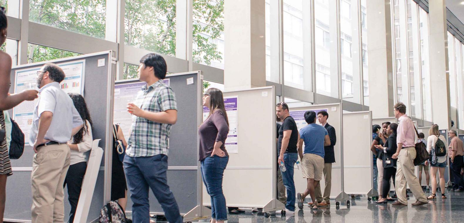 Research Poster Session in Lobby