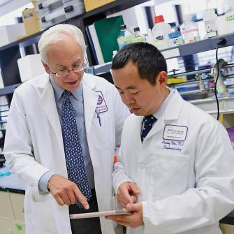 Dr. Martin Blaser and Dr. Ilseung Cho Collaborate in Research