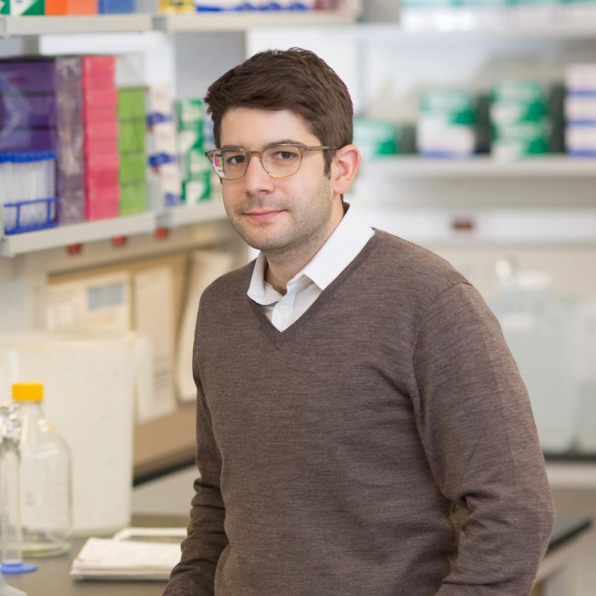 Lung Cancer Researcher Dr. Thales Papagiannakopoulos