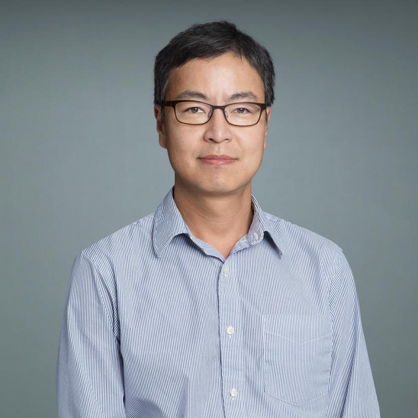Apoptosis researcher Dr. Hyung Don Ryoo